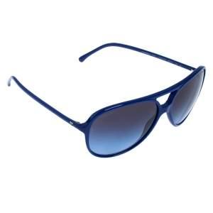 نظارة شمسية أفياتورز شانيل 5287 متدرجة زرقاء/زرقاء