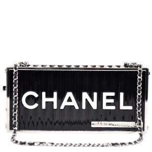 Chanel Black Leather 2018 Paris-Hamburg Shoulder Bag