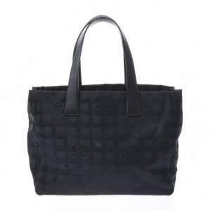 Chanel Black Nylon Travel Ligne Bag