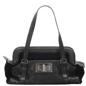 Chanel Black Caviar Leather Reissue Vintage Bag