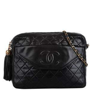 Chanel Lambskin Leather CC Bag