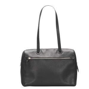 Chanel Black Caviar Leather Bag