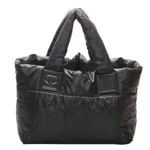 Chanel Black Nylon Coco Cocoon bag