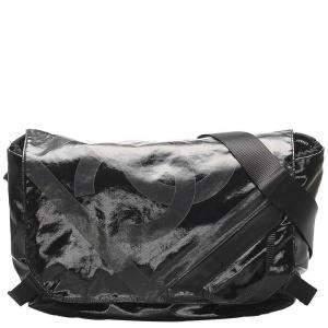 Chanel Black Nylon CC Crossbody Bag