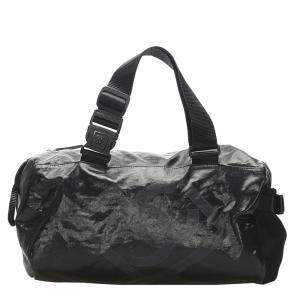 Chanel Black Sports Line Nylon Duffle Bag