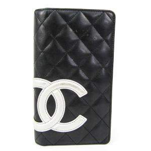 Chanel Black Cambon Leather Wallet