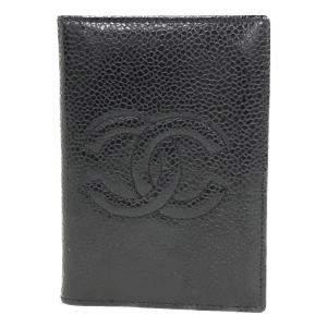 Chanel Black Caviar Leather Timeless Card holder