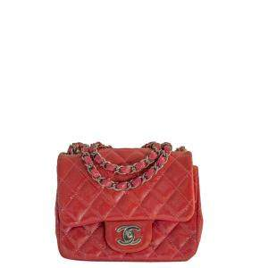 Chanel Pink Leather  Timeless Shoulder Bags
