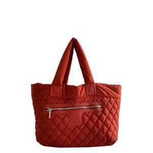 Chanel Red Nylon Coco Cocoon Bag