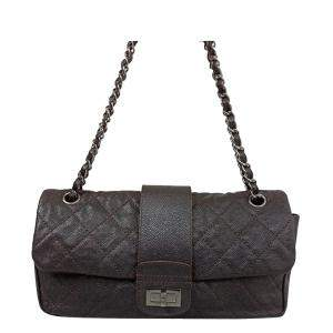 Chanel Brown Caviar Leather Vintage Reissue Bag