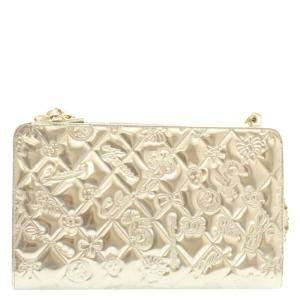 Chanel Ivory Leather Vintage Shoulder Bag
