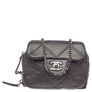 Chanel Metallic Ultimate Stitch Leather Mini Bag