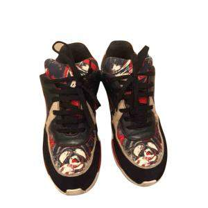 Chanel Multicolor Graffiti Sneakers Size EU 36.5