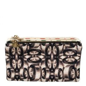 Charlotte Olympia Multi-color Printed Fabric Set of 3 Clutches