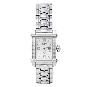 Charriol Silver Stainless Steel Diamonds Colvmbvs CCSTRH Women's Wristwatch 25 mm