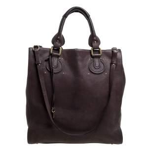 Chloe Brown Leather Aurore Pure Paddington Tote