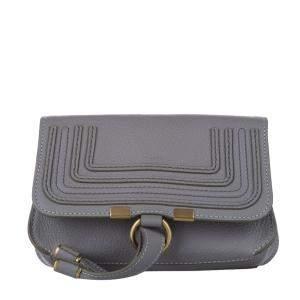 Chloe Grey Marcie Leather Belt Bag