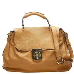 Chloe Brown Leather Elsie Bag