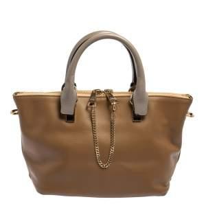 حقيبة كلوي بايلي جلد متعدد الألوان صغيرة