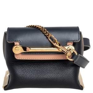حقيبة كروس كلوي كروس ميني كلير جلد ثلاثية الألوان