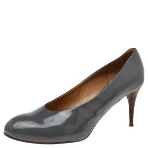 Chloe Grey Patent Leather Pumps Size 41