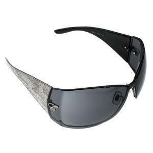 Chopard Black Monogram SCH637 Shield Sunglasses