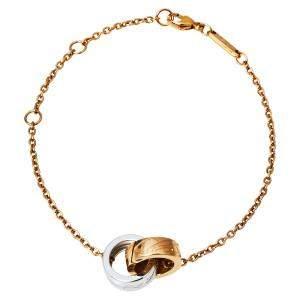 Chopard Chopardissimo 18K Two Tone Gold Bracelet