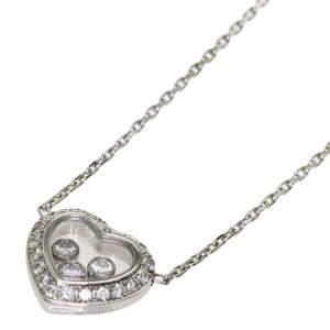 Chopard Happy Diamond Icon 18K White Gold, Diamond Necklace