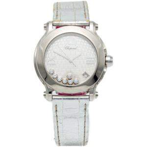 Chopard Happy Sport Special Silver Dial 7 Diamonds Limited To 500 Pieces Women'S Watch 36MM