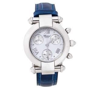 ساعة يد نسائية شوبارد امبريال 38/8389 ستانلس ستيل بيضاء 32 مم