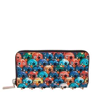 Christian Louboutin Multicolor Leather Panettone Wallet