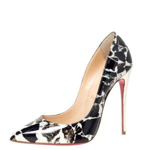 Christian Louboutin Multicolor Patent Pigalle Follies Pointed Toe Pumps Size 39