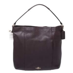 Coach Burgundy Leather Isabel Shoulder Bag