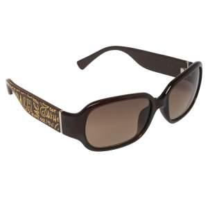 Coach Brown Acetate Tenley 629A Gradient Sunglasses
