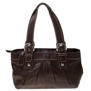 Coach Brown Leather Soho Tote