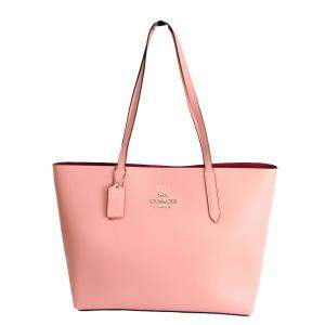Coach Pink Leather Avenue Tote