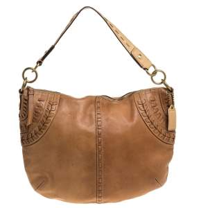 Coach Brown Leather Hobo