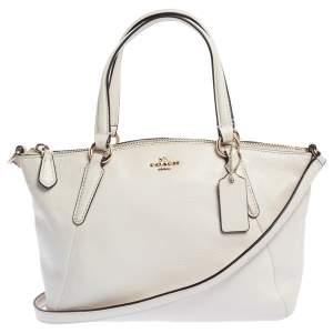 Coach Cream Leather Ava Crossbody Bag