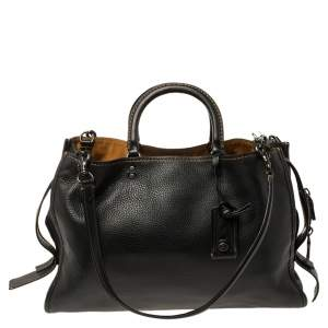 Coach Black Leather Rogue 1941 Bag
