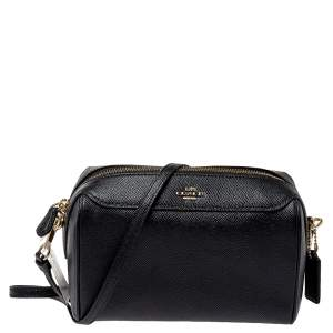 Coach Black Leather Bennett Crossbody Bag
