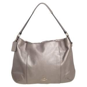 Coach Metallic Gold Leather Isabel Shoulder Bag