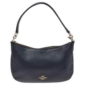 Coach Blue Leather Chelsea Crossbody Bag