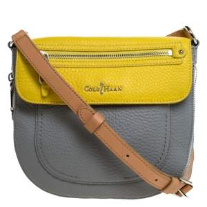 Cole Haan Tricolor Leather Flap Crossbody Bag