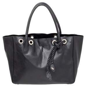 Cole Haan Black Leather Tote