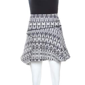 Derek Lam 10 Crosby Multicolor Knit Mini Skirt M