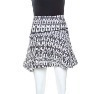 تنورة ميني ديريك لام 10 كروزبي تريكو متعدد الألوان M