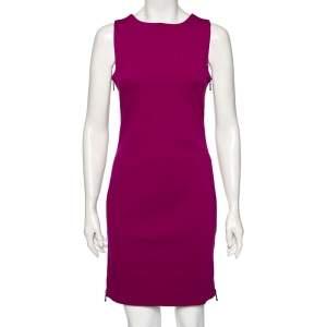 Diane von Furstenberg Fuchsia Knit Leigh Dress M