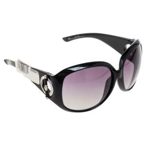 Dior Black Gradient D28N3 Oversized Sunglasses