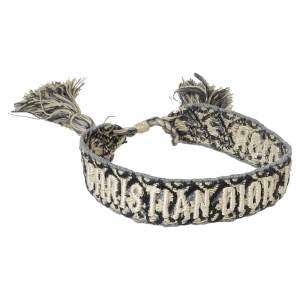 Dior Blue J'adior Woven Friendship Bracelet
