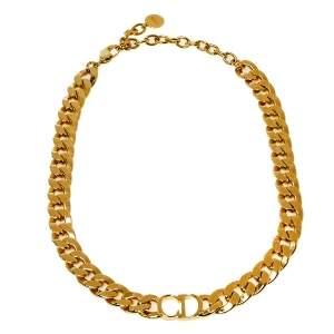 Dior Gold Tone Danseuse Étoile Choker Necklace
